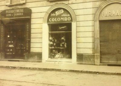 Foto storica, l'esterno