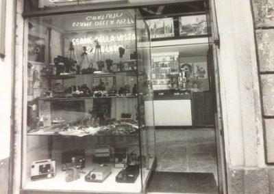 Foto storica, la vetrina